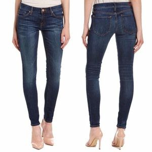 Joie Mid Rise Skinny Jeans Frontier Wash
